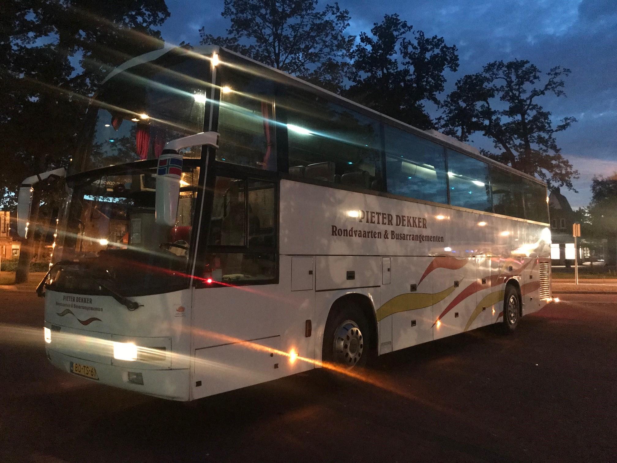 Luxe Bus Pieter Dekker Rondvaarten